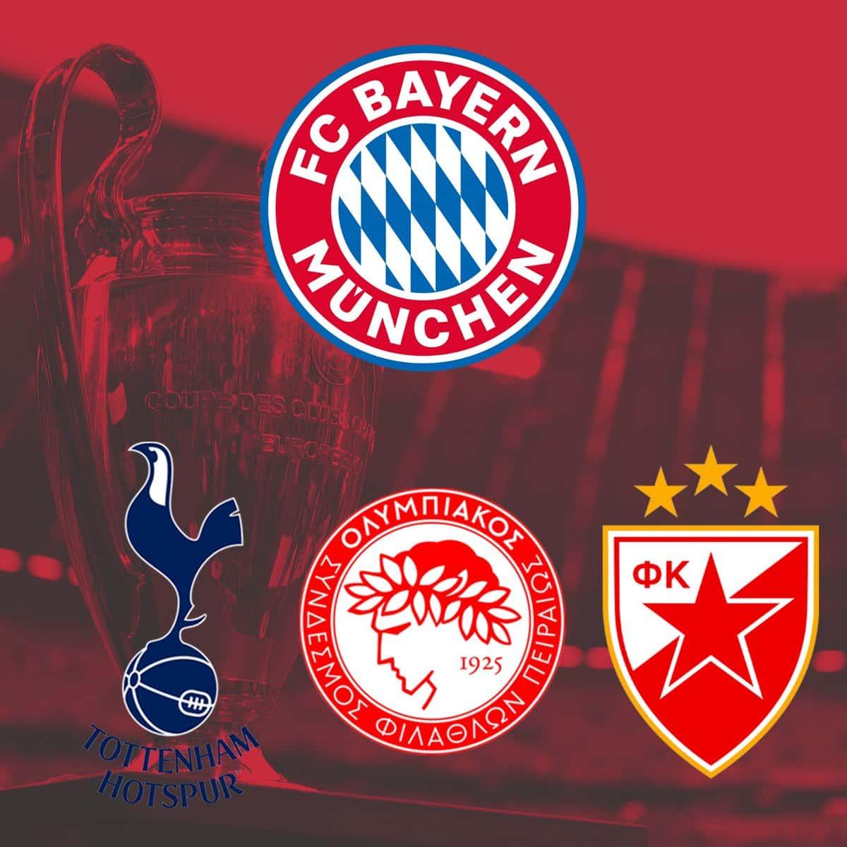 Tickets für das Champions League Heimspiel gegen Roter Stern Belgrad