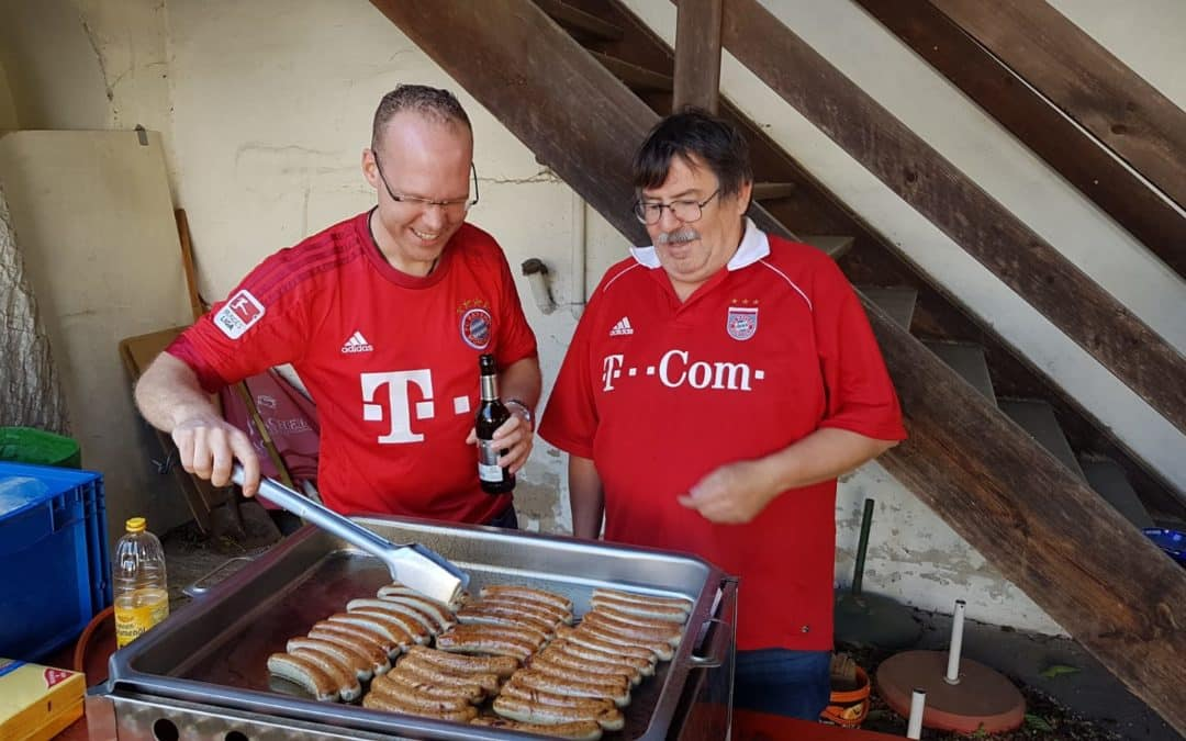 Saison Eröffnungs-Grillen am 28. August