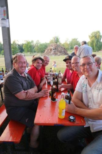 Besuch der Sonnwendfeier Straßkirchen 2017